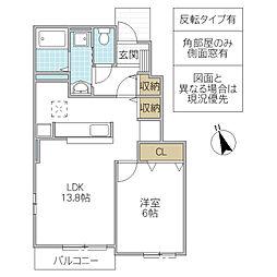 宍戸駅 4.6万円