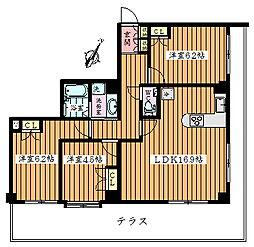 豊玉サンライトマンション[101号室]の間取り
