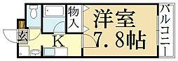 ルミネ四季彩館[2階]の間取り