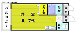 シャトレ和白[3階]の間取り
