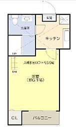 コンパートメントハウス千葉I[103号室]の間取り