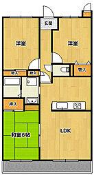 PAL-TORISHIMA[2階]の間取り