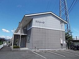 滋賀県大津市穴太1丁目の賃貸アパートの外観