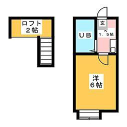 サン妙慶[1階]の間取り