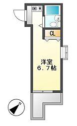 ジョイフル本山[1階]の間取り