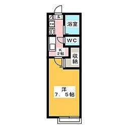 ルシオーレ[103号室]の間取り