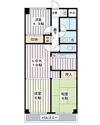 ストークマンションダイゴ2[4階]の間取り
