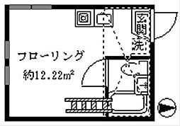 ライフピア目白台III[203号室]の間取り