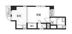 神奈川県横浜市中区曙町1丁目の賃貸マンションの間取り