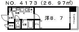 トラスト王子町[706号室号室]の間取り