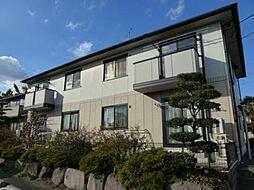 群馬県高崎市金古町の賃貸アパートの外観