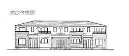 レーヴ グランドゥールB[2階]の外観