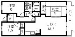 M TAKAI(エムタカイ)[102号室号室]の間取り