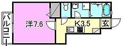 LUMIELE和泉[102 号室号室]の間取り