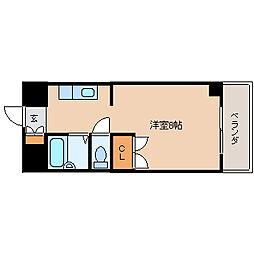 K−2西小倉ビル[5階]の間取り