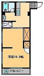 サイクルハイツ1[3階]の間取り