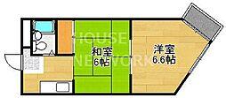 ブランドハウス京都二条城[402号室号室]の間取り