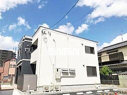 愛知県北名古屋市久地野河原の賃貸アパートの外観