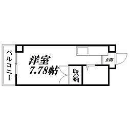 静岡県浜松市中区西伊場町の賃貸マンションの間取り