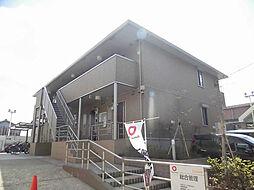 京都府京都市北区紫竹北栗栖町の賃貸アパートの外観