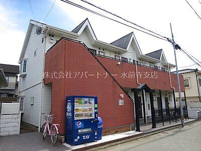 外観,1K,面積19.38m2,賃料2.3万円,,,熊本県熊本市中央区薬園町