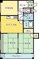 第4泰平ビル[301号室]の間取り