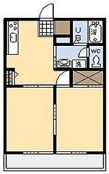 サン・グレイスII[202号室]の間取り