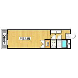 ハウスオブローゼ[3階]の間取り