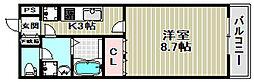 グレイシャス[1階]の間取り
