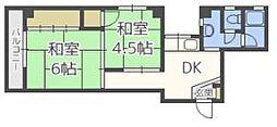 大野ビル[2階]の間取り