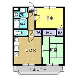 グランドハイツ関根II[1階]の間取り