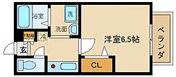 セジュールZIROZA[1階]の間取り
