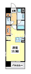 EXCEL COURT FUSE TOWER[13階]の間取り