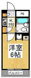 Housing-Musashino87[2階]の間取り