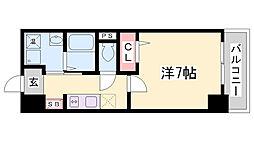 ロイスグラン神戸下沢通[4階]の間取り