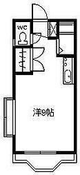 シャネル宮崎[306号室]の間取り
