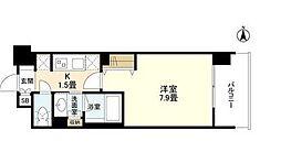 ケンジントンマンション大森WEST bt[4階]の間取り