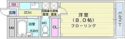 JR仙山線 東北福祉大前駅 徒歩17分の賃貸マンション 1階1Kの間取り