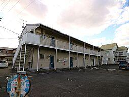 福岡県遠賀郡遠賀町遠賀川2丁目の賃貸アパートの外観