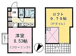 東京都葛飾区新小岩4丁目の賃貸マンションの間取り
