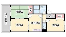 メゾン高須[2階]の間取り