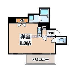 アビタ小橋[5階]の間取り