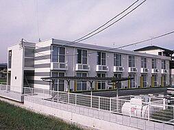 広島県福山市駅家町大字万能倉の賃貸アパートの外観