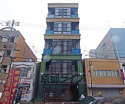 京都府京都市上京区千本通下立売上る十四軒町の賃貸マンションの外観