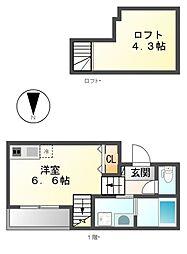 ステージ新栄[2階]の間取り