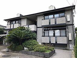 大阪府高槻市唐崎中2丁目の賃貸アパートの外観