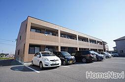 三重県鈴鹿市南玉垣町の賃貸アパートの外観