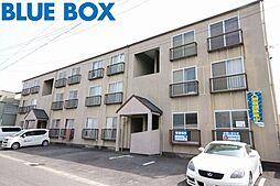 愛知県稲沢市小沢2丁目の賃貸マンションの外観