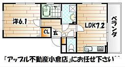 イーハ・トーブS・K[1階]の間取り