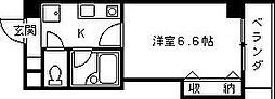 兵庫県西宮市中島町の賃貸マンションの間取り